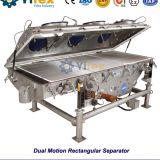 Dual Motion Rectangular Separator