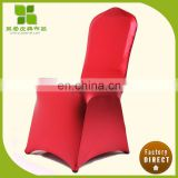 Professional shinny gold chair covers for wholesales
