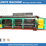 straight and reverse twisted hexagonal wire mesh making machine manufacturer