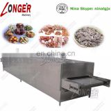 Continuous Stainless Steel Pistachios Nut Roasting Machine Nut Baking Machine