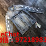 Supply OFF WHITE tide brand denim jacket, sweater, sports pants  original single source