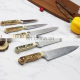 stainless steel forged kitchen knife set