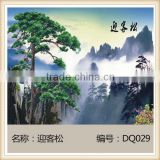 Jiangxi Sales Better Tiles Large Art Deco Tiles Living Room TV Background Wall Tiles Modern European Blossoming DQ180