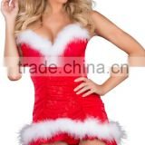 2015 red cosplay party lingerie cheap Christmas Costumes For Adults women