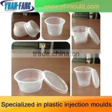 plastic mold/OEM Custom thin wall box injection plastic mould/thin wall box plastic mould