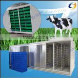 Automatic hydroponic barley fodder seeds planting machine for poultry,Cattle Sheep Horse Animal Livestock