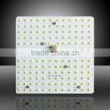AC 220v aluminum base 2835 smd led ceiling pcb square 130*130mm 15W Hoslight led square pcb for lamp replacement/manufacturing