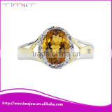 Gold jewellery white gold diamond ring real diamond ring                                                                         Quality Choice