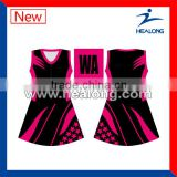 Custom sublimation girls netball dress