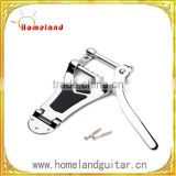 Chrome Tremolo Vibrato Bridge Tailpiece Hollow body Archtop for Semi-Hollow Jazz Guitar