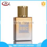 BBC Metallic Series-MF007 Nice cheap spray men golden glass bottles natural perfume manufacturer