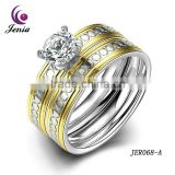 Jenia Wholesale Jewelry Ring New Design Ladies Gold Beautiful Design Ring