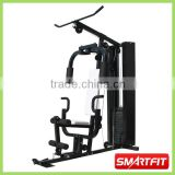 whole body trainning exercise equipment Multi Home Gym with 200 lb customized weight stacks with cover