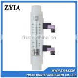 LZM-G inline type air flow meter with alarm limit switch