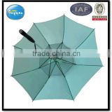 promotion fan umbrella with polyester fabric and glassfiber frma
