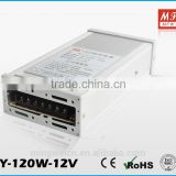 factory direct sale aluminum ac to dc 120w 60a waterproof power supply 5v led driver with 2 years warranty in alibaba
