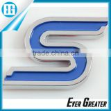 custom car badges auto emblems 3m metal badge plastic emblems ABS Electroplated Sticker Auto Badge