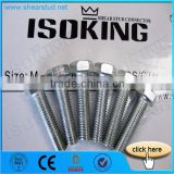 High Strength 10.9 Grade Hex Bolts Nuts