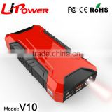 High capacity battery power source pack charger vehicle engine booster 12v car jump starter                                                                                                         Supplier's Choice