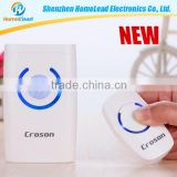 433.92mhz anti-theft yellow waterproof wireless door bell with 4 in 1 function                                                                         Quality Choice