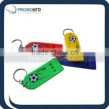 Football falt whistle Falt whistle with ring Cheap whistle flat