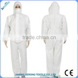 OEM service disposable SF material personal protection mining coverall for south africa