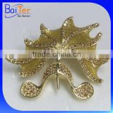 Custom Made China Wholesale Fashion Men Wedding Brooch