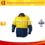 High quality 100%Cotton work Shirts,Two Tone Work Uniform Shirts