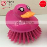200010 novelty brush duck design cleaning brush dish scrubber lovely dish washing brush