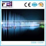 Led light outdoor water sea or pool lake music dancing water floating fountain
