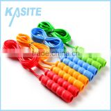 2.4M child eco-friendly pvc jumping ropes with PP handle