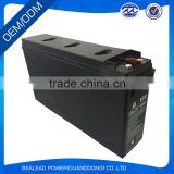 Top quality 12v 180AH front terminal battery for solar power bank