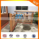 The new style fashion, durable,easy to clean, waterproof, prevent slippery WPC garden fence border