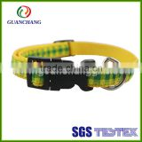 custom wholesale promoting high quality nylon reflective remote control dog training collar bulk
