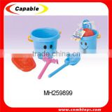 plastic summer toy beach bucket with accessory set                                                                                                         Supplier's Choice
