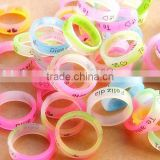 silicone rubber wedding rings glow in the dark