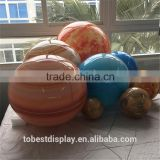 High quantity acrylic hanging world globes, large world globes, plastic globe