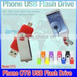 Smart Phone usb flash drives 128gb otg usb flash drive external storage 16GB 8gb 4GB micro usb otg stick pen disk