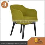 Cocktail Lounge Night Club Chairs in Stylish Retro Olive Green Fabric