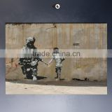 import wall sticker of Tree and Banksy Art