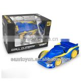 Infrared rc wall climbing toy car