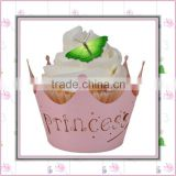 Beautiful wrapper baking paper cups for birthday party, candy/cake decoration paper wrapper cup