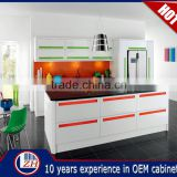 Hotsale simple Style white UV high gloss small kitchen design kitchen furniture kitchen cabinet