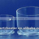 2013 quartz Fused Silica Crucible,Semi-transparent quartz glass crucible