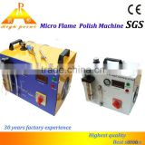 High Point best service military hand crank generator micro flame polisher factory price