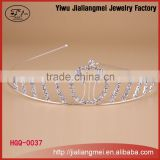 Wholesale new wedding headdresses cheap beauty pageant tiaras and crown of the bride wedding