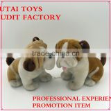 2016 China Yangzhou supply new soft toys happy lively toy bull dogs for sale online manufacture passed SEDEX customize wholesale