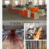 pvc plastic artificial marble skirting profile extrusion line