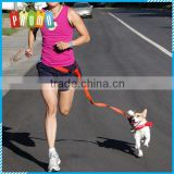 New waist retractable pet dog leash running jogging