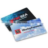 Credit card Long Life cell phone external memory card custom logo memory card